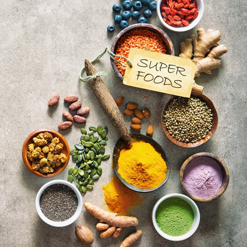 Superfoods and Skin Care