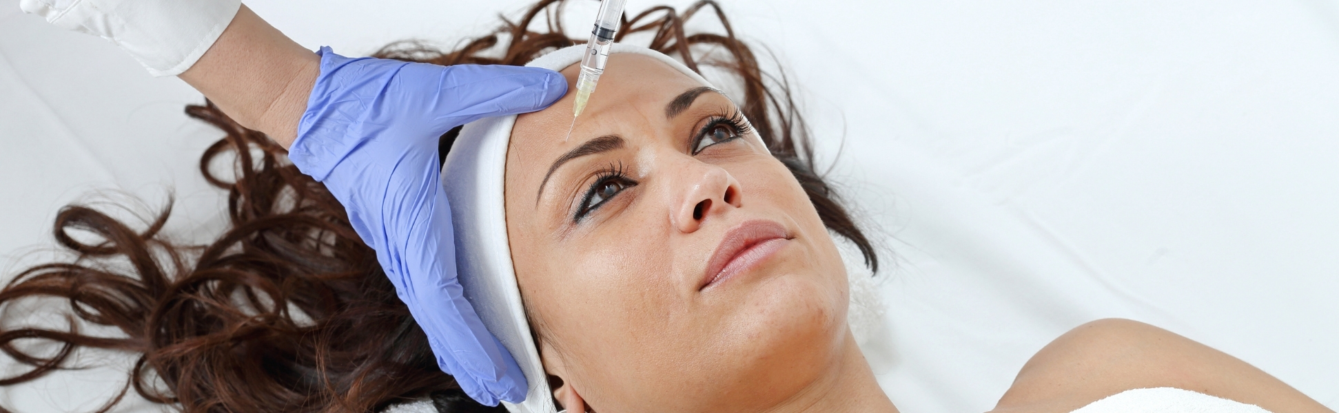 Dermal fillers for forehead