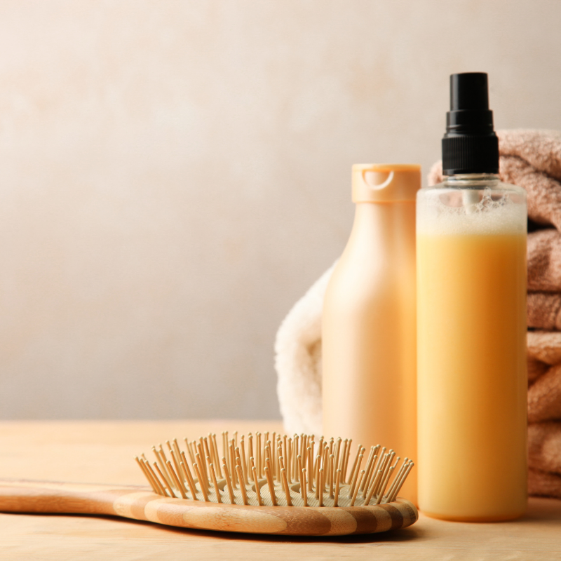 Dermatologist recommended hair care products for preventing split ends